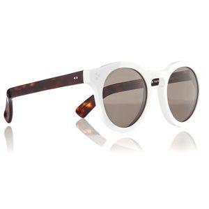 Illesteva Leonard 2 White Tortoise Sunglasses